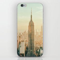 New York City Skyline Dreams iPhone & iPod Skin