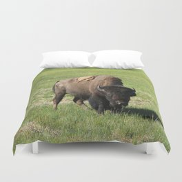 A Big Guy Duvet Cover