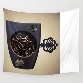 The Mechanic Coffee Wall Tapestry