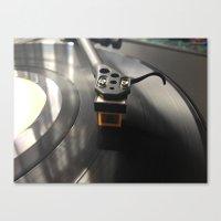 vinyl Canvas Prints featuring Vinyl by JBuck
