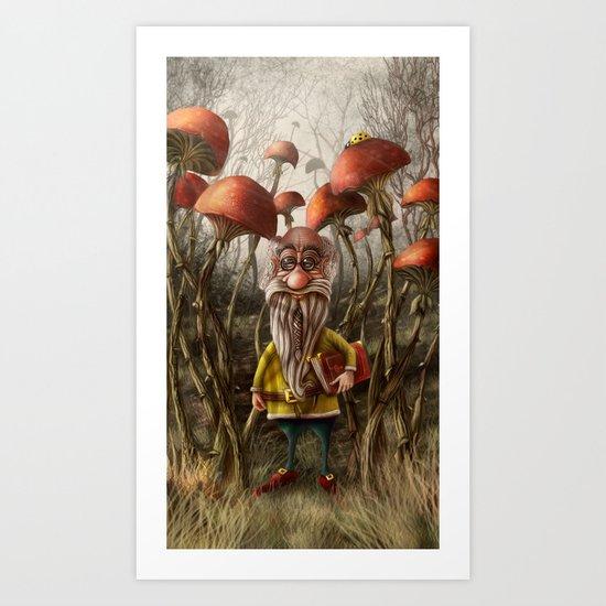 Aalbert Van Edeborg from Mushroom Mountains Art Print