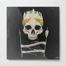 True King Dark Metal Print