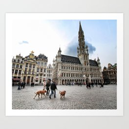 Grand Place, Brussels Art Print
