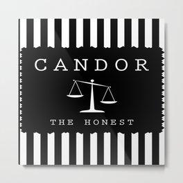 CANDOR - DIVERGENT Metal Print