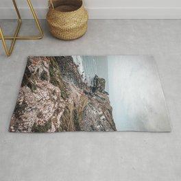 Cornwall's cliffs Rug