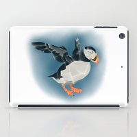 puffin iPad Cases featuring Puffin by Belcast