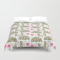 rain Duvet Covers featuring Rain by ottomanbrim
