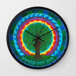 Celebration Tree of Life Wall Clock