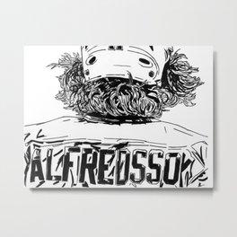 Alfredsson 2 Metal Print