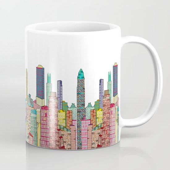 New York Modern Coffee Mug By Society6