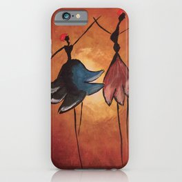 african girls iPhone Case