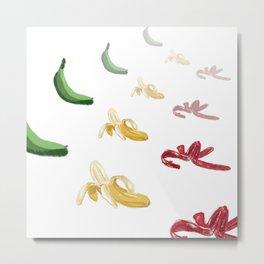 12 banana's Metal Print
