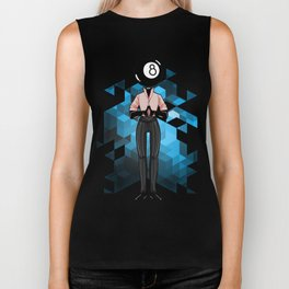 BRAINWAVES: THE MAGIC OF THE 8 BALL Biker Tank