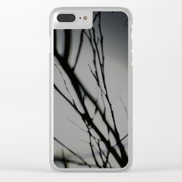 Tree Feed 01 Clear iPhone Case