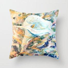 Eternal Bloom Throw Pillow