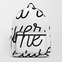 Magic cute The ones that love us Backpack