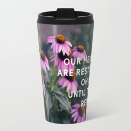 Until They Rest In You Augustine Quote Travel Mug