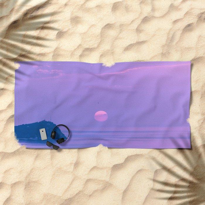 Fantastic sunrise Beach Towel