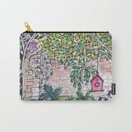 Val's Beautiful Garden Carry-All Pouch