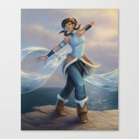 avatar Canvas Prints featuring Avatar by saehral