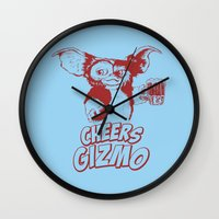 gizmo Wall Clocks featuring Cheers Gizmo by Roma