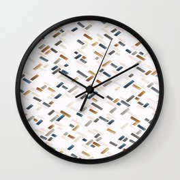 Molecule3 Wall Clock