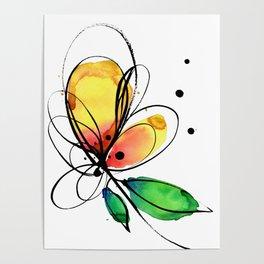 Ecstasy Bloom No.8 by Kathy Morton Stanion Poster