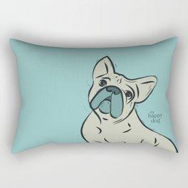 Frenchy - mint Rectangular Pillow
