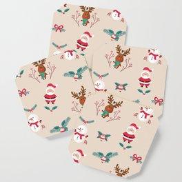 Christmas Puppets Coaster