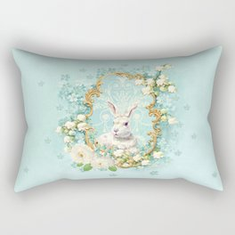 The White Rabbit Rectangular Pillow
