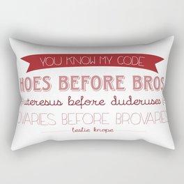 Hoes B4 Broes Rectangular Pillow