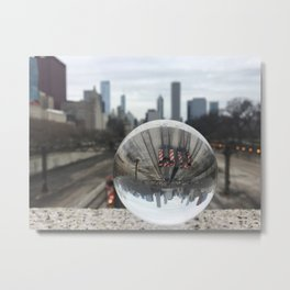 Chicago ball Metal Print