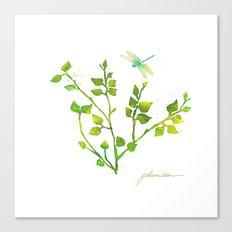 Dragonfly Three  Canvas Print