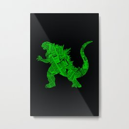 Japanese Monster - II Metal Print