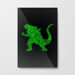 Japanese Monster - II Metal Print