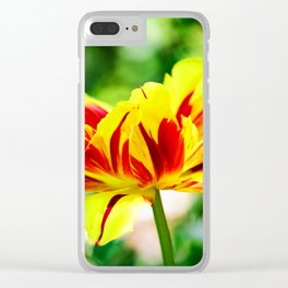 Vivid Beauty Clear iPhone Case