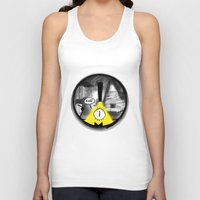 gravity falls Tank Tops featuring Gravity Falls- Dreamscape by merrigel