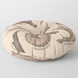 Antlers Floor Pillow