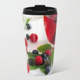 Red Berries Tea Travel Mug
