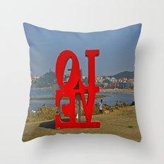 EVOL Throw Pillow