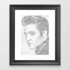 Elvis: Suspicious Minds Framed Art Print