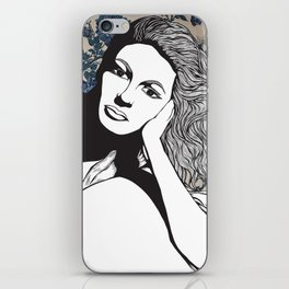 Frances Farmer iPhone Skin