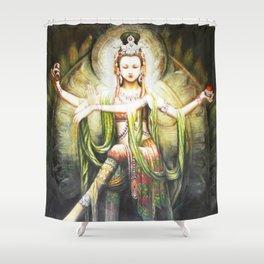 Hindu Durga 2 Shower Curtain
