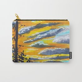 Suburban Sunset Carry-All Pouch