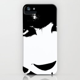 Abstract Face 4 iPhone Case