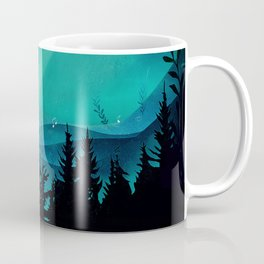 Magic in the Woods - Turquoise Coffee Mug