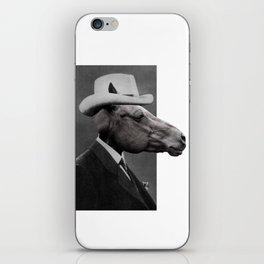 HORSE FACE iPhone Skin