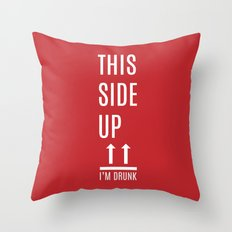 This side up Throw Pillow
