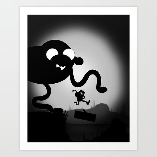 Limbo Time! Art Print