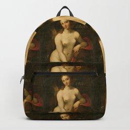 """Antonio Allegri da Correggio """"Venus and Cupid"""" Backpack"""